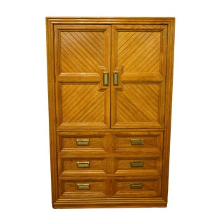 Late 20th Century Thomasville Furniture Sundance Collection Door Chest For Sale