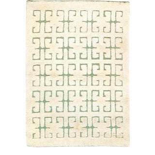 Mid 20th Century Swedish Pile Rug For Sale
