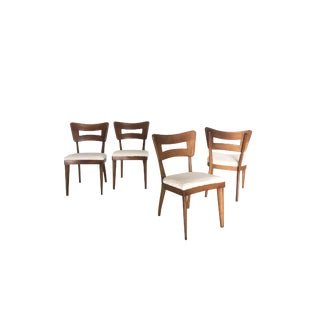 "Set of 4 Heywood Wakefield ""Dogbone"" Dining Chairs For Sale"