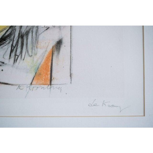 Abstract Expressionism slant select -- Willem de Kooning For Sale - Image 3 of 4