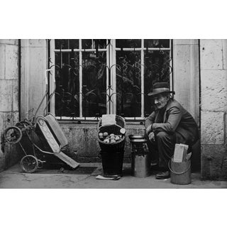 Vintage Black and White Street Photograph For Sale