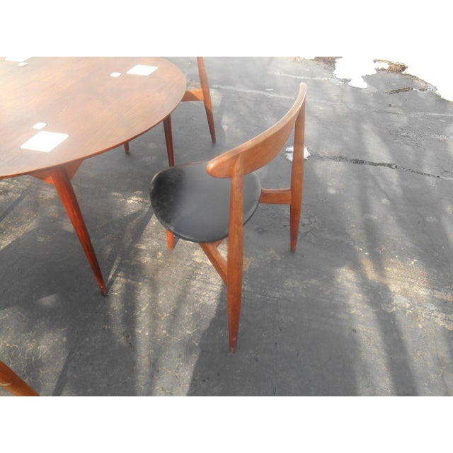 Hans Wegner Dining Set / Game Table For Sale - Image 7 of 10