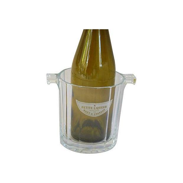Crystal Glass Moet Chandon Bottle Bucket Chiller - Image 2 of 5