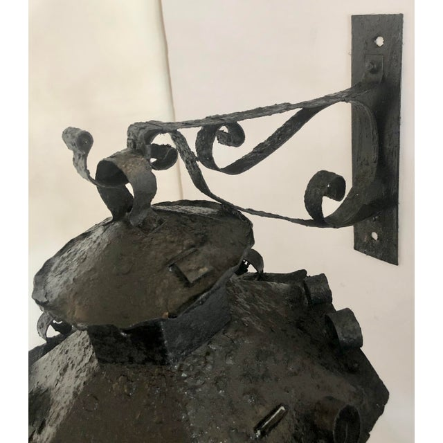 Pair Midcentury Outdoor Sconces For Sale - Image 10 of 11