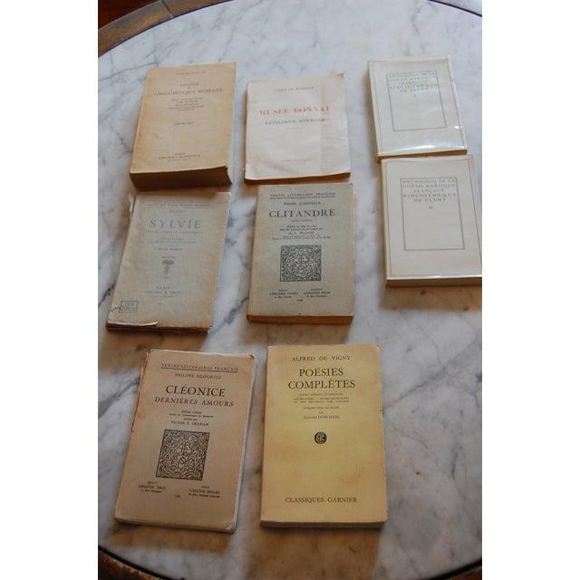 Vintage French Paperback Books - Set of 8 - Image 4 of 8