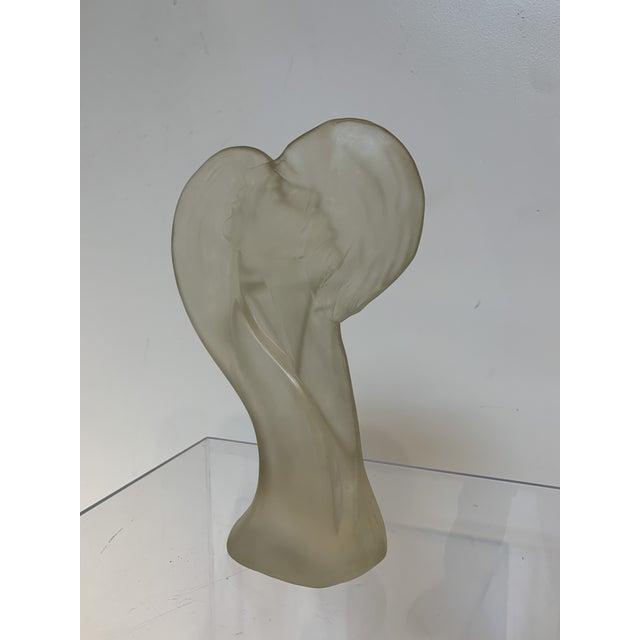 Plastic 1960s Lovers Lucite Sculpture by Mirage Ltd Bohemia New York For Sale - Image 7 of 10