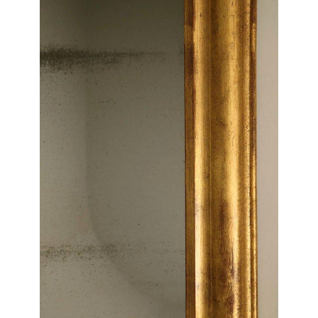 French Louis Philippe Gilt Mirror, Circa 1850 For Sale - Image 10 of 12