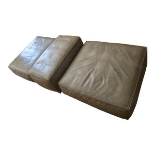 Piero Lissoni for Living Divani Extrasoft Sofa Cushions - Set of 3 For Sale