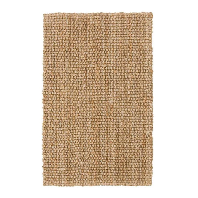 Contemporary Loop Natural Jute Rug - 5 X 8 For Sale - Image 3 of 6