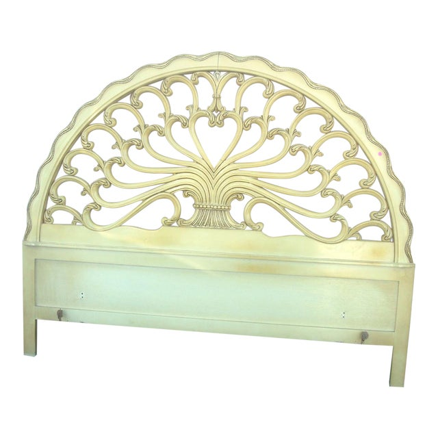 Genova Furniture Co. French Provincial Headboard For Sale