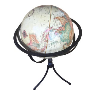 Replogle Globe on Iron Stand