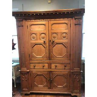 19th Century Neoclassical Revival Irish Pine Cabinet Preview