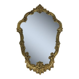 Gold Gilt Wood Frame Mirror