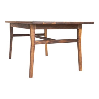 Shaker Laurel Table Solid Walnut Dining Table For Sale