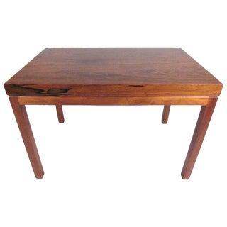 Vintage Milo Baughman for Thayer Coggin Rosewood Side Table For Sale
