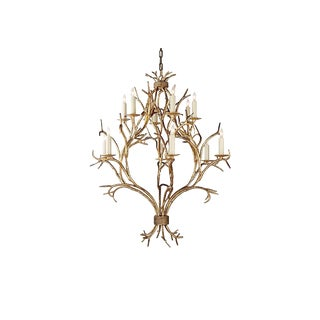 Contemporary Visual Comfort Branch Open Frame Chandelier