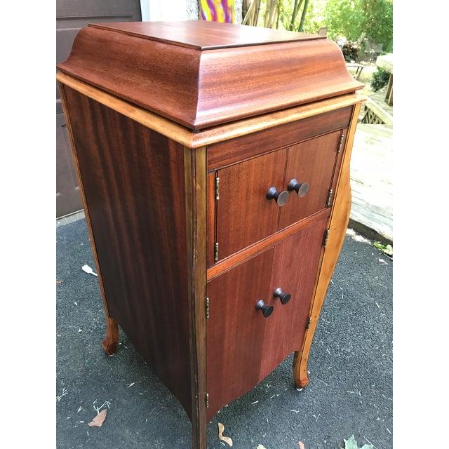 Vintage Victrola Phonograph Bar Cabinet Chairish