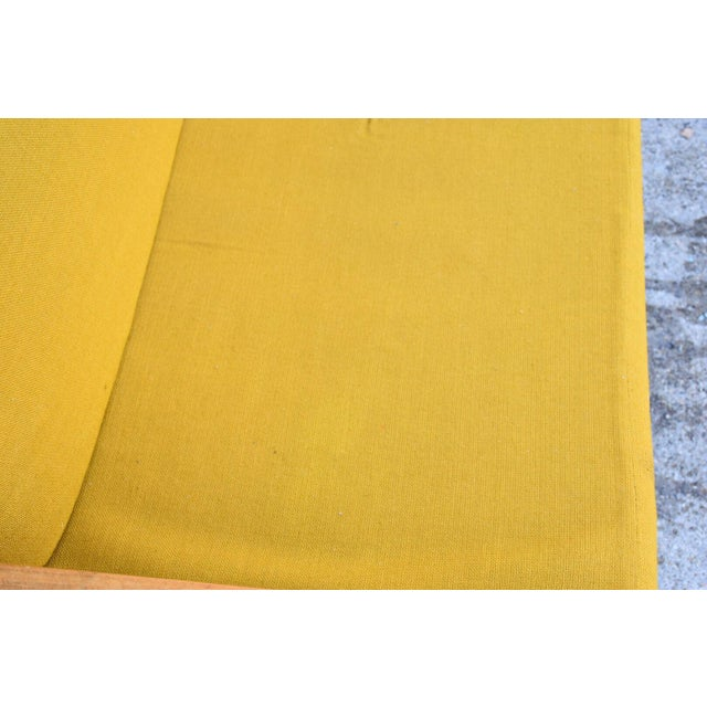 Danish Style Yellow Daybed - Image 7 of 10