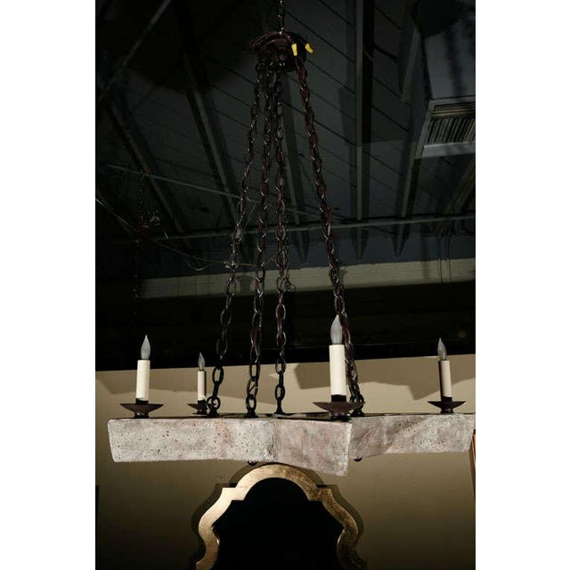 Paul Marra Star Chandelier - Image 6 of 8