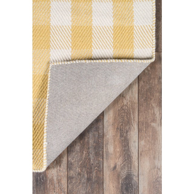 """2010s Madcap Cottage Highland Fling a Scotch Please Gold Area Rug 7'9"""" X 9'9"""" For Sale - Image 5 of 8"""