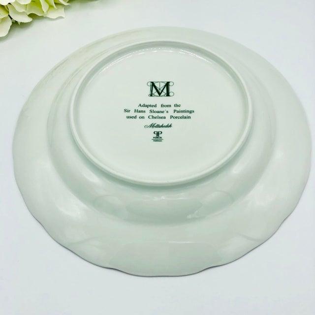 Mottahedeh Chelsea Botanical Vista Alegre Dinner Plates - Set of 4 For Sale In New York - Image 6 of 12