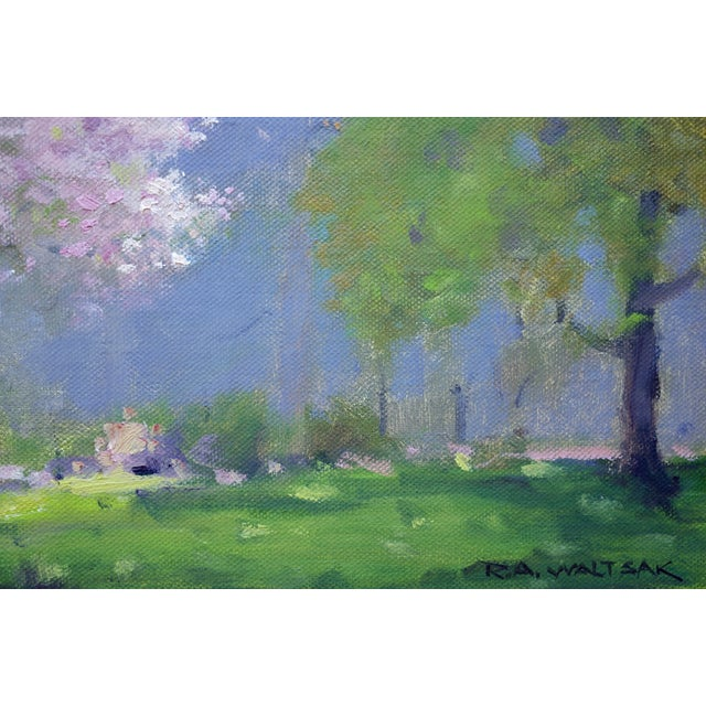 Spring Landscape Painting - Image 4 of 4