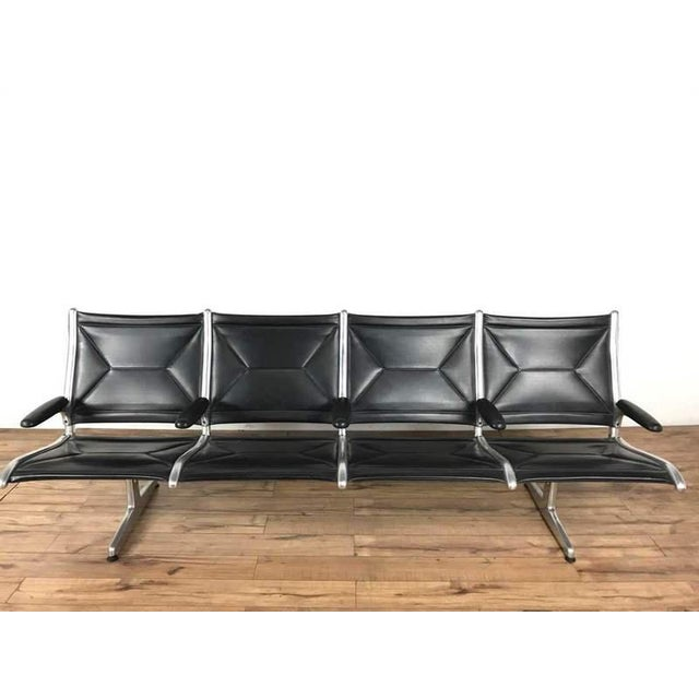 Charles & Ray Eames Tandem Sling Airport Bench - Image 13 of 13