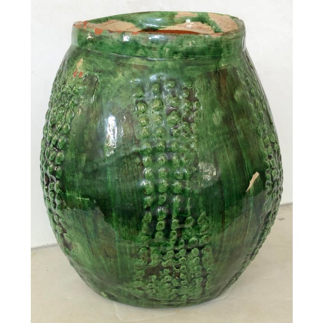 French Majolica Jug For Sale - Image 4 of 6