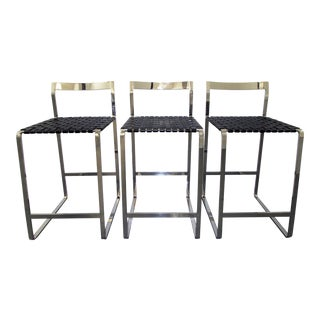 Custom Made Counter Stools - Set of 3