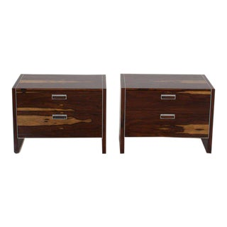 Robert Baron for Glenn of California Rosewood Nightstands - A Pair