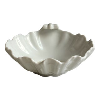 Mid 20th Century Limoge 'Ocean' Shell Dish For Sale