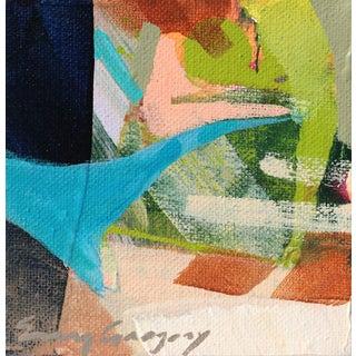 """Joie de Vivre no. 4"" Original Acrylic Painting by Erin Gregory For Sale"