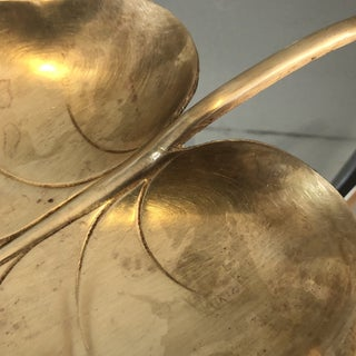 Large Brass Catchall Leaf Dish Preview