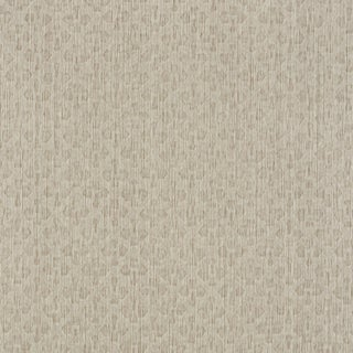 Sample - Schumacher Essex Wallpaper in Champagne For Sale