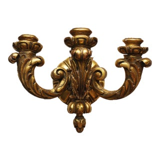 Italian Giltwood Sconce