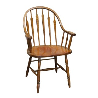 Mid 20th Century H.W. Hull & Sons Wooden Kitchen Chair For Sale