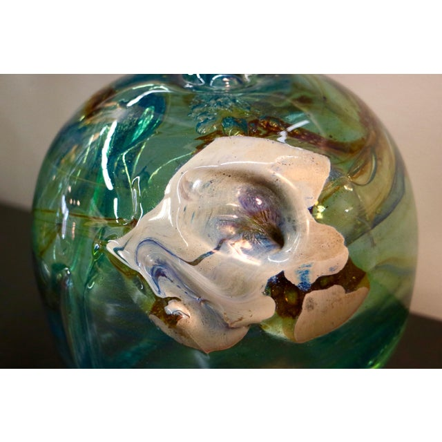 Signed 1970 Art Glass by Peter Bramhall - Image 6 of 7