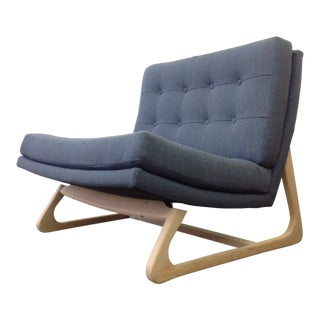 Mid Century Modern Upholstered Chair Att to Adrian Pearsall