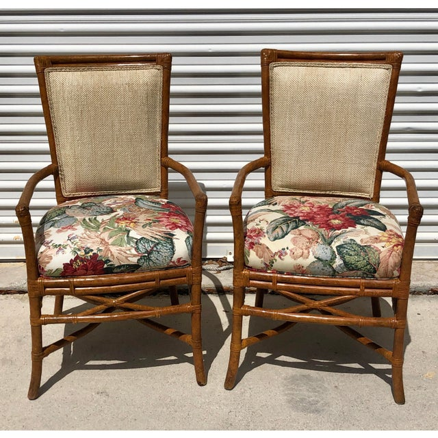Rare find in these exquisite master crafted extremely comfortable dining chairs from an estate on Palm Beach Island. I...