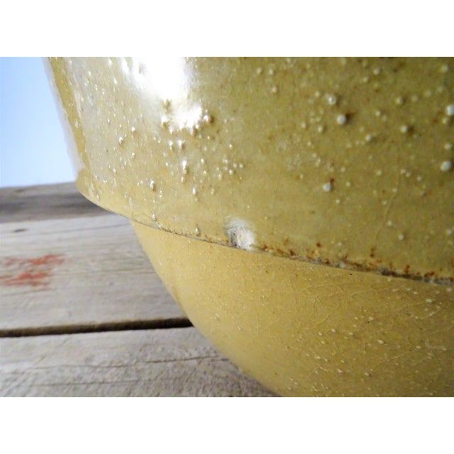 Antique Stoneware Bowl For Sale - Image 11 of 11