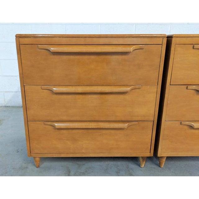 Danish Modern 1960s Danish Modern Maple Dressers - a Pair For Sale - Image 3 of 12