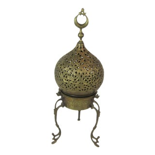 Islamic Style Brass Incense Burner For Sale