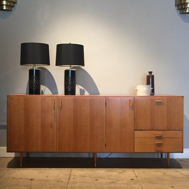 1950s Custom Made Midcentury Ash Sideboard For Sale - Image 10 of 10