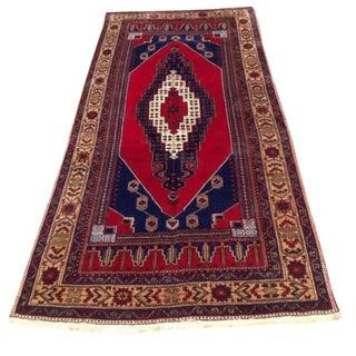 Vintage Anatolian Rug - 4′10″ × 10′9″ For Sale