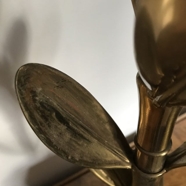Leaf Lamp by Stiffel For Sale In Richmond - Image 6 of 10