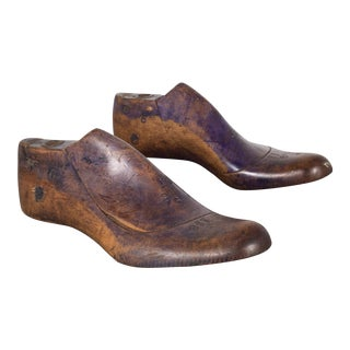 Antique Wooden Shoe Last C.1920 For Sale