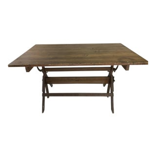 1950s Industrial Dietzgen Drafting Table For Sale