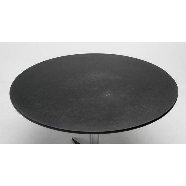 Martin Visser Dining Table Model Te06 in Slate by Martin Visser for 't Spectrum For Sale - Image 4 of 8