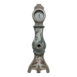 Late 18th Century Painted Swedish Mora Clock For Sale