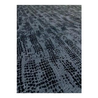 Lee Jofa Verse - Modern. Blue/Black Designer Upholstery Fabric - 5.75 Yards For Sale